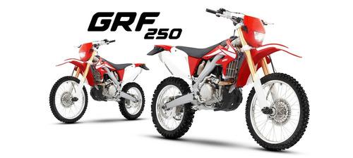 guerrero grf 250x off road moto enduro rayos freno disco