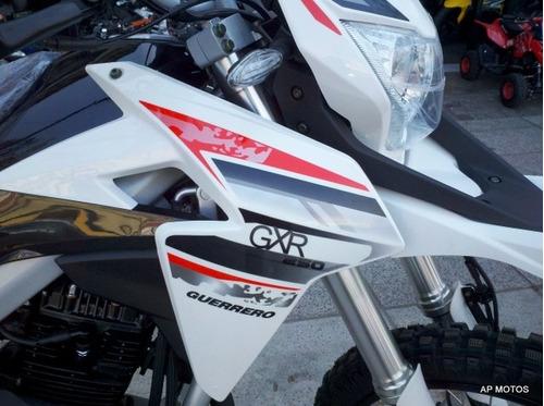 guerrero gxr 250 0km motos ap