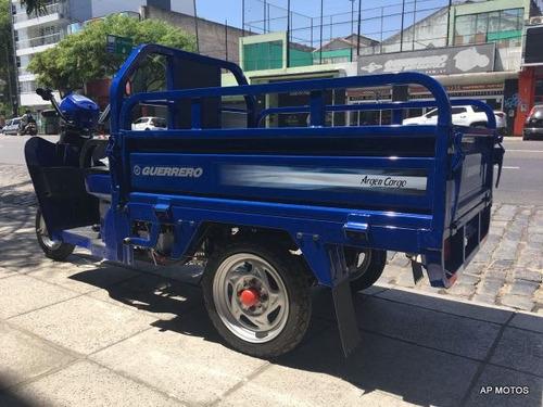 guerrero tricargo argencargo 110 azul 0km motomel apmotos