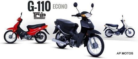 guerrero trip 110 econo 2019 0km beta keller glovo ap motos