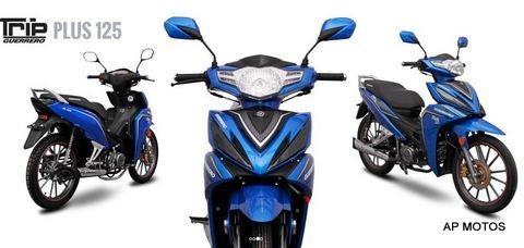 guerrero trip 125 plus 2019 0km ap motos tipo smash energy