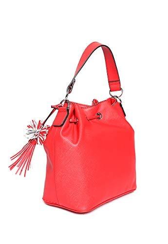 Unital Rojo Talla Bolsa Para Bucket Mujer Guess Roja dCxQrWoeB