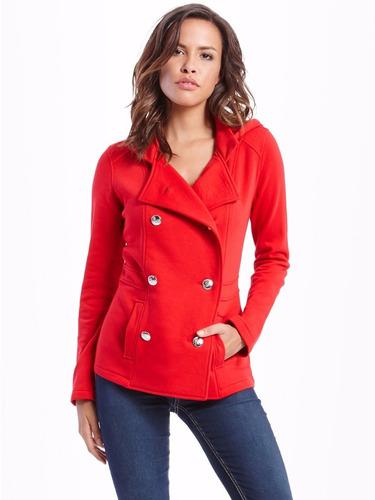 guess casaca talla m color rojo