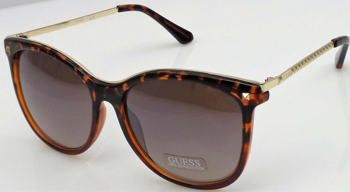 5bfc4d11d Guess Óculos De Sol Feminino Gf0302 52g Novo Original - R$ 219,00 em ...