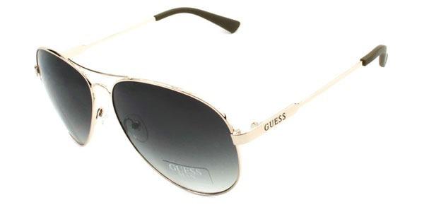 f600d015e40e7 Guess Óculos De Sol Masculino Gu6735 Aviador Original Usa !! - R ...