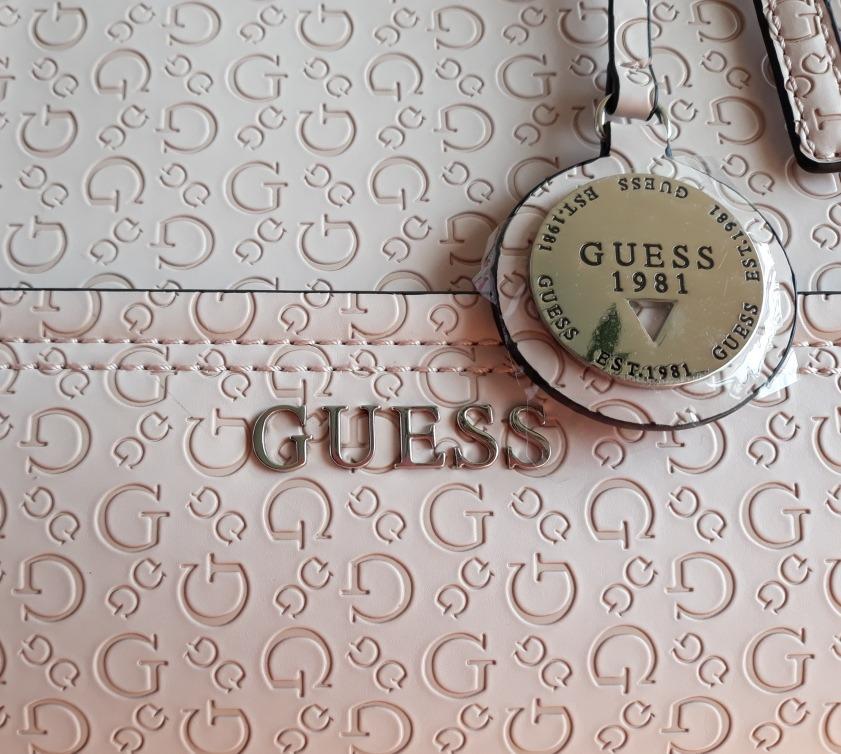 016b3fe03 Guess Original Bolsa Rosa Blush Regalo Mujer - $ 1,950.00 en Mercado ...