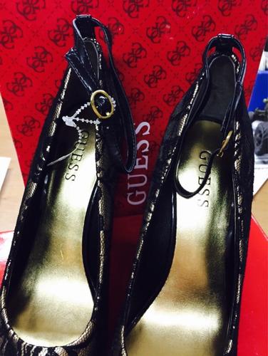 guess plataformas zapatos