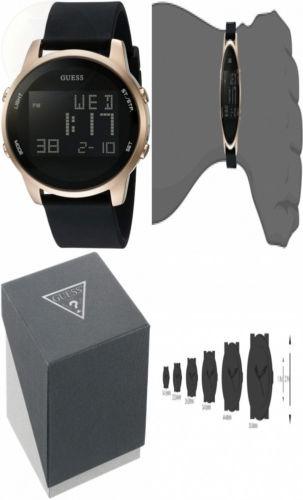 1ad62c81d836 Guess Reloj Digital De Silicona Para Hombre