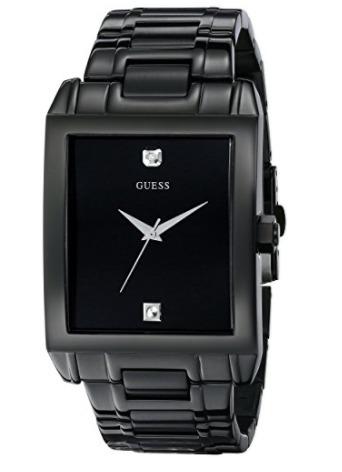 Guess U12557g1 Classic Black Ip Rectangular Reloj Hombre -   450.000 en Mercado  Libre 58511899700f