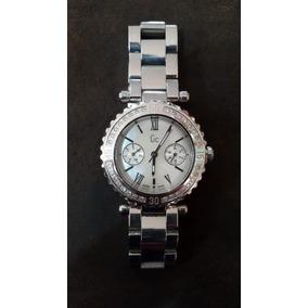 0a26ff220fe4 Reloj De Dama Gc (guess) Con Esfera De Diamantes Y Acero