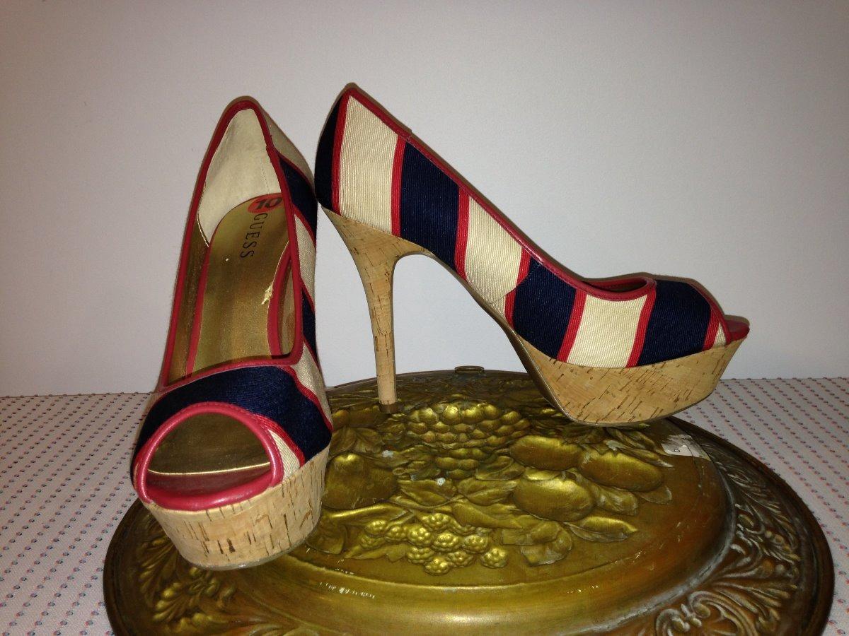 d5b4c736 Guess Zapatos Tacon Dama Talla 10 - $ 999.99 en Mercado Libre