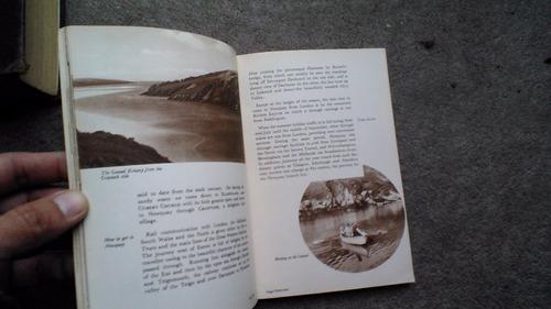 guía antigua playas newquay inglaterra 1960