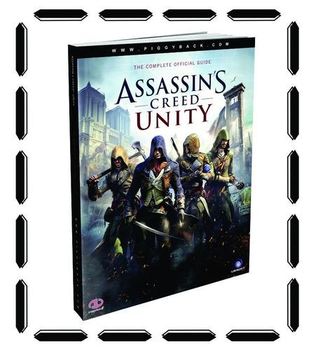 guía assassin's creed unity collector's edition nueva