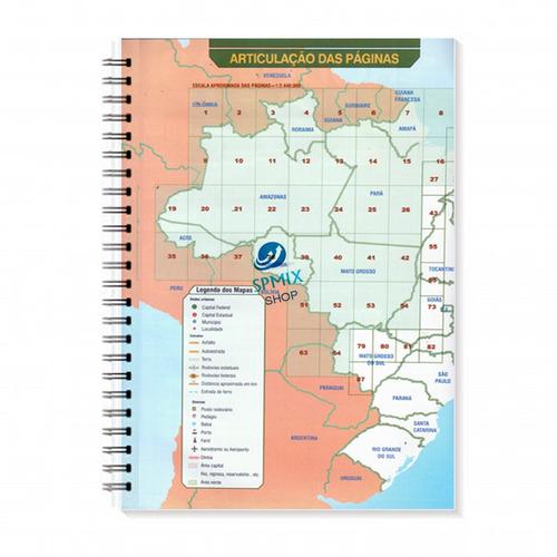 guia cartoplam rodovias brasil norte a sul espiral novo
