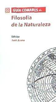 guía comares de filosofía de la naturaleza(libro filosofía)