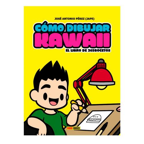 guia cómo dibujar kawaii libro 365 bocetos panini