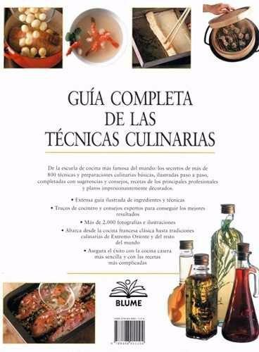 Guia completa de las tecnicas culinarias le cordon bleu for Manual tecnicas culinarias