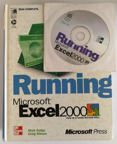 guía completa. running excel 2000. 75493 mcgraw-hill. 75493