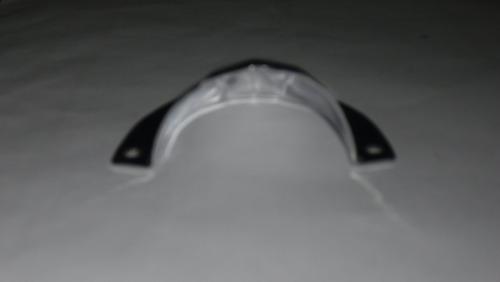 guía de bronce de ventilación grande