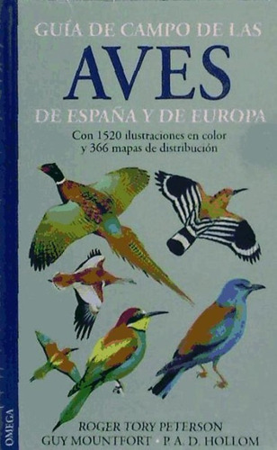 guía de campo de las aves de españa y de europa(libro zoolog