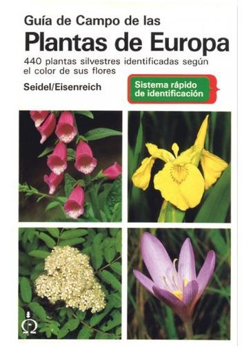 guía de campo de las plantas de europa(libro botánica)