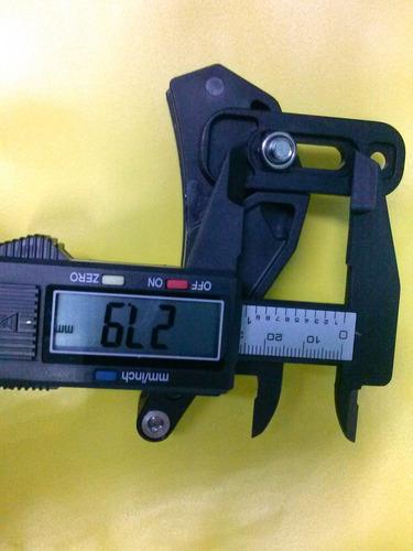 guia de corrente p/ coroa única xc fouriers 31,8 34,9mm 80g