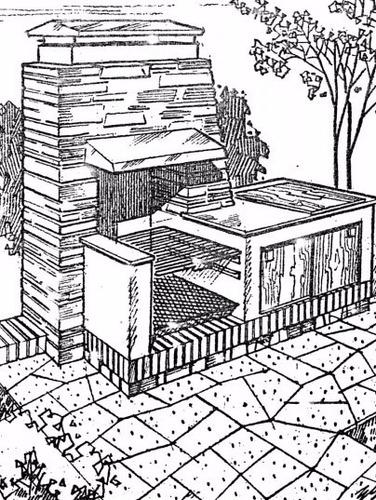 guia de diseños e ilustraciones de parrilleras y churuatas