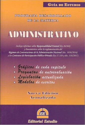 guía de estudio administrativo