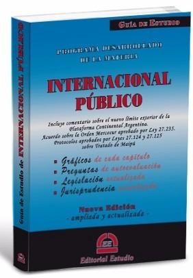 guia de estudio derecho internacional publico - nuevo actual