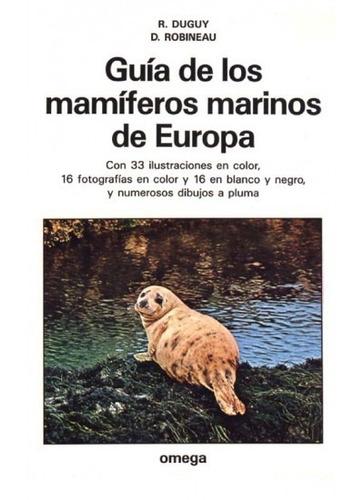 guía de los mamíferos marinos de europa(libro zoología)