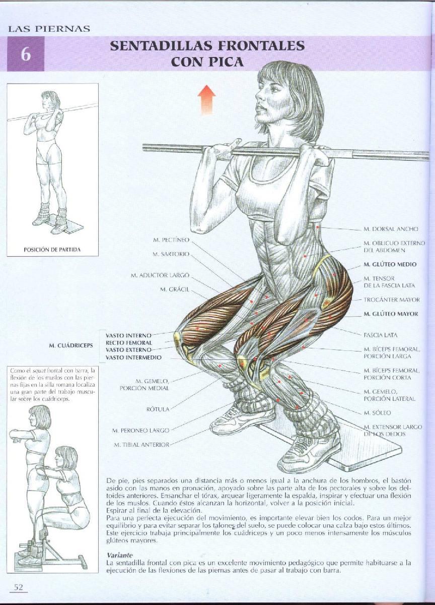Guia De Los Movimientos De Musculacion - Bs. 5.500,00 en