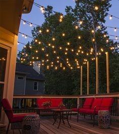 guia de luces para decoracin fiesta eventos o jardines