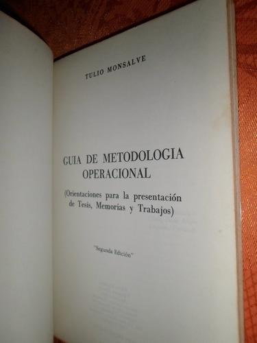 guía de metodología operacional