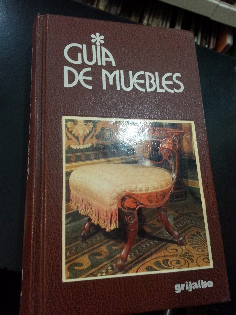 Guia De Muebles Sergio Coradeschi Editorial Grijalbo 500  # Muebles Fiction