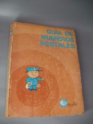 guia de numeros postales encotel 1981 zona caballito