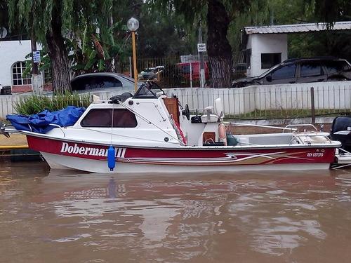 guía de pesca embarcación cabinada - delta y río de la plata