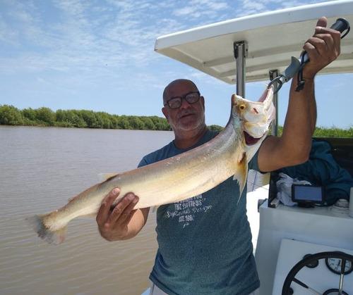 guía de pesca embarcado río de la plata y delta