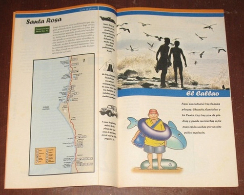 guía de playas lugares para veranear lima el comercio 2002