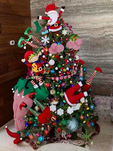 guia de pompones navidad