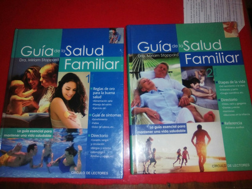 guía de salud familiar tomo 1 y 2 totalmente nuevo