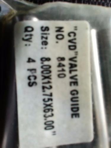 guia de valvulas admision y escape vw/1.3-1.5-1.6 8x12.75x63