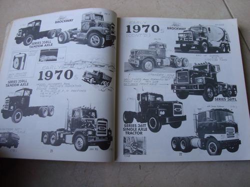 guia del carro americano. camiones 1920 1970 t burness