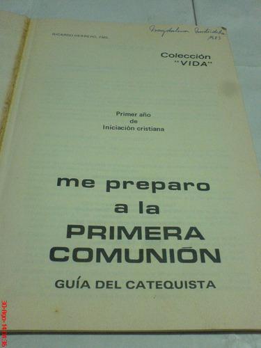 guia del catequista   libro-tomo  (me preparo a la comunion