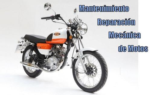 guía digital * mecánica, mantenimiento, reparación motos *