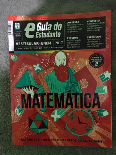 guia do estudante enem 2017 - redação, matemática,português