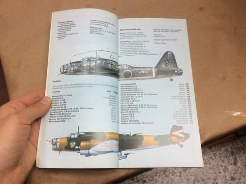 guía ilustrada bombarderos de la segunda guerra. aviones