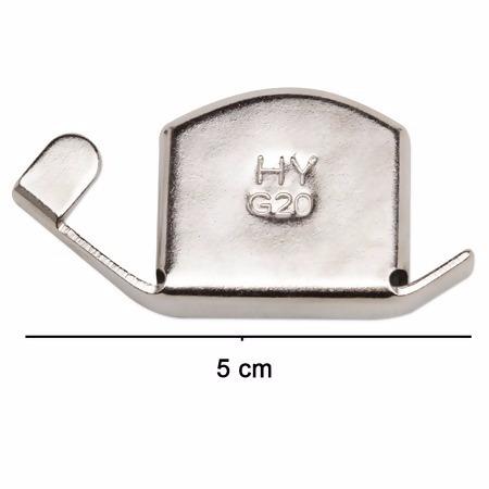 guia imã magnético costura reta patchwork - 02 pçs