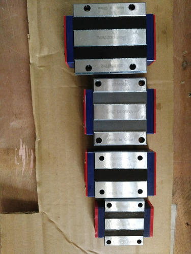 guia lineal de precision de 20mm  x  1500mm para cnc