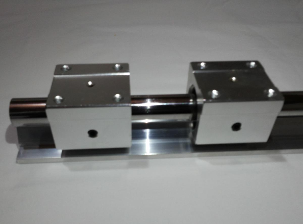 Guia linear eixo retificado perfil de alum nio fuso cnc - Guia de aluminio ...