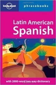 guia lonely planet frases latinoamerica español e ingles!